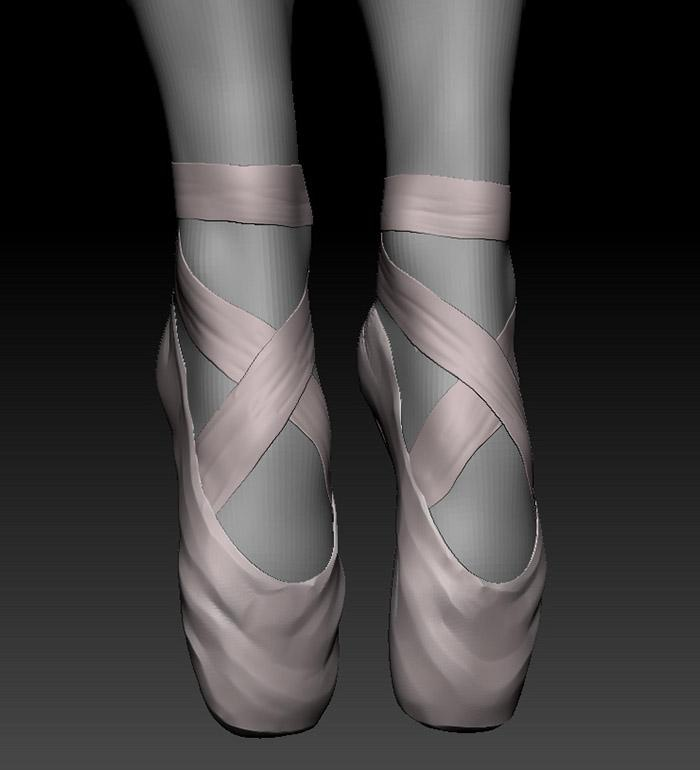 Another iconic part of a ballerina's outfit