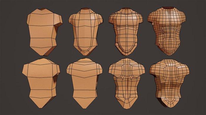 Maya modeling: Modeling the torso · 3dtotal · Learn | Create
