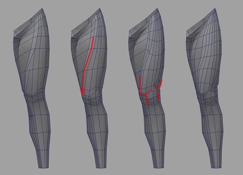 Model legs in Maya · 3dtotal · Learn | Create | Share