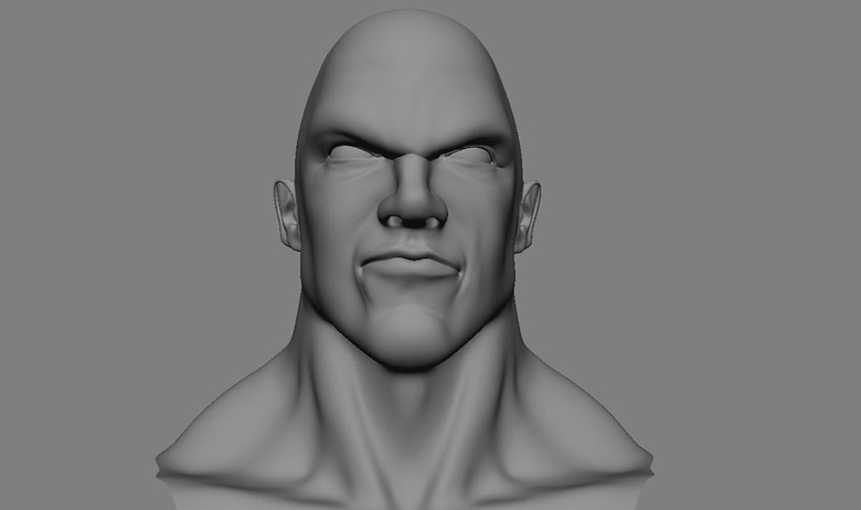 The head model used as a base