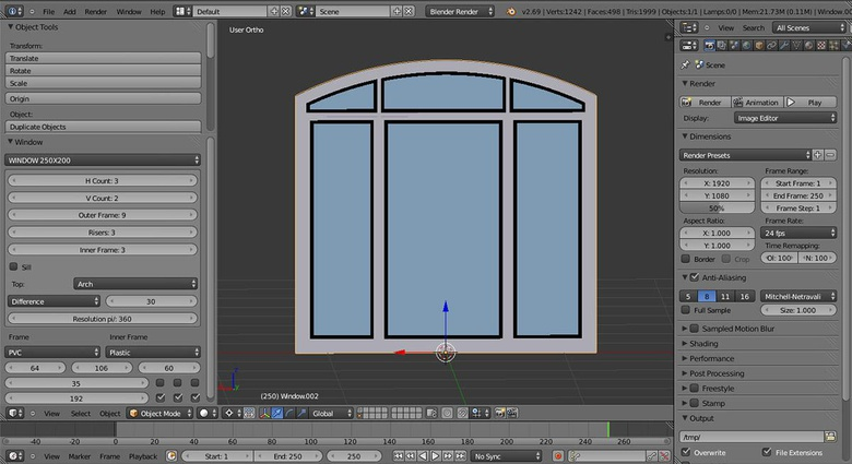 Generating windows