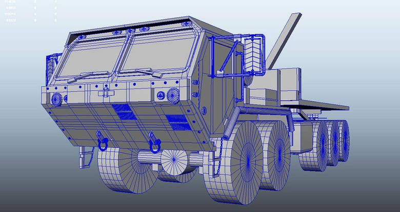 To start the vehicle, this shows the base block in model form