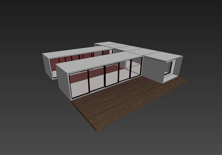 My final model of the house