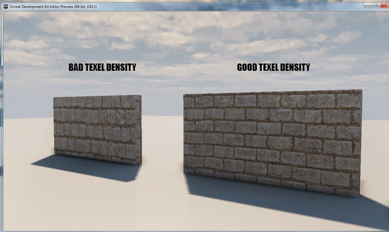 Walls with one good Density and one bad Density