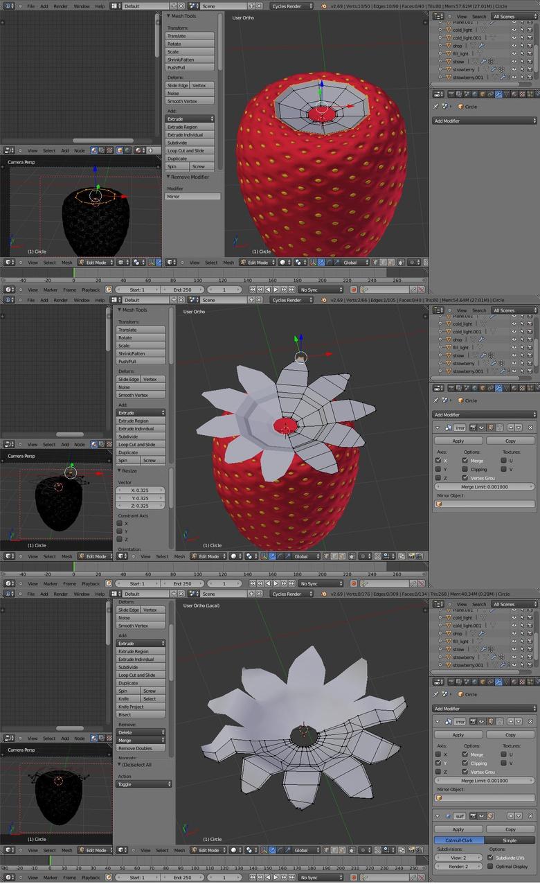 Create strawberries in Blender · 3dtotal · Learn | Create