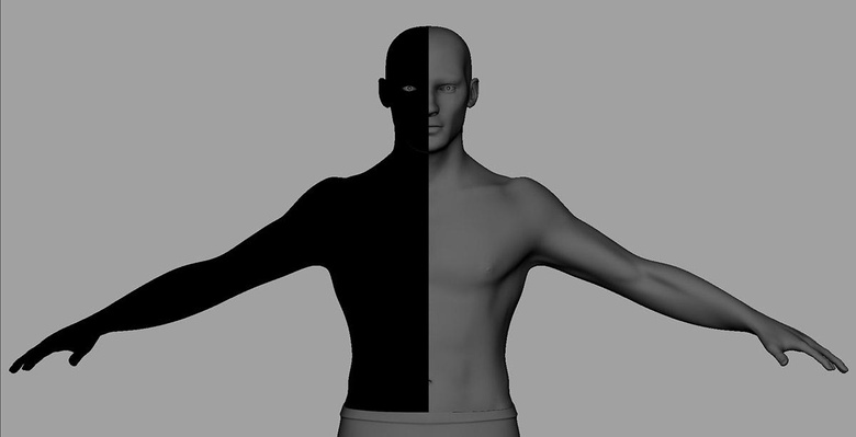 Disable Two Sided Lighting to check the normals