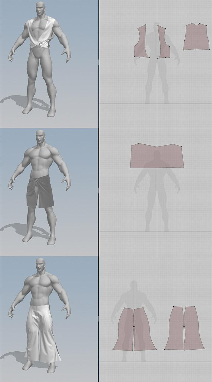 Importing and assembling the meshes