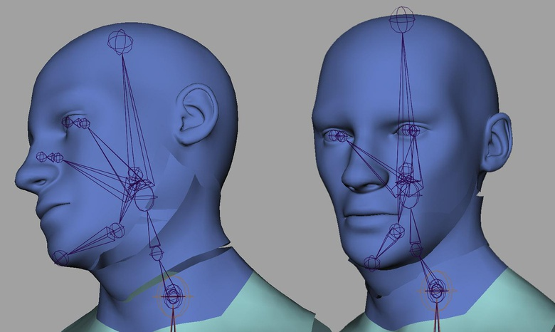 Introduction to rigging in Maya - Part 3 - Rigging the neck
