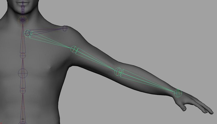 Introduction to rigging in Maya - Part 4 - Rigging the shoulders and
