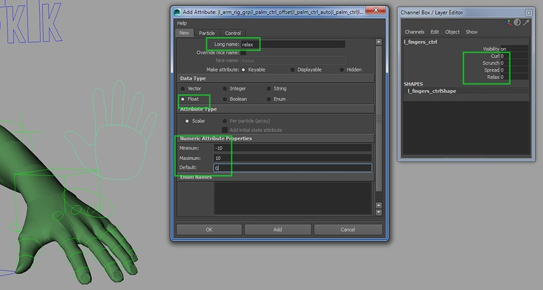 Introduction to rigging in Maya - Part 8 - Rigging the fingers and