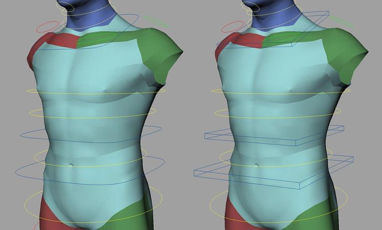 Re-designing the IK torso controls