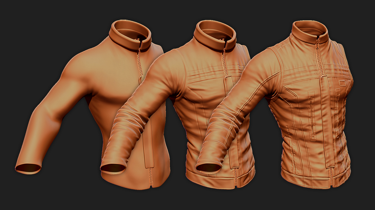 Create believable fabric folds in ZBrush · 3dtotal · Learn