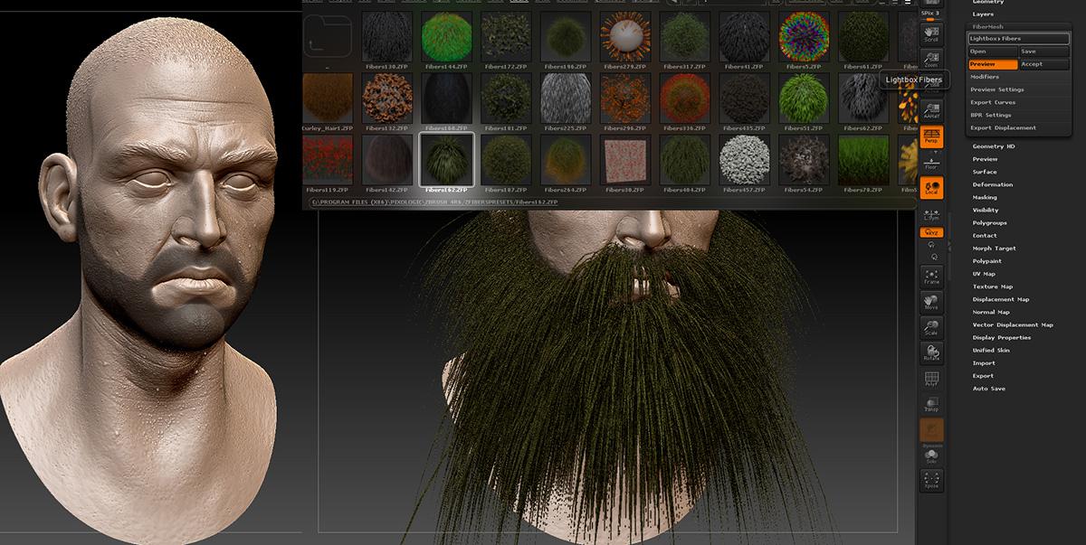 Creating Facial Hair with FiberMesh · 3dtotal · Learn | Create | Share