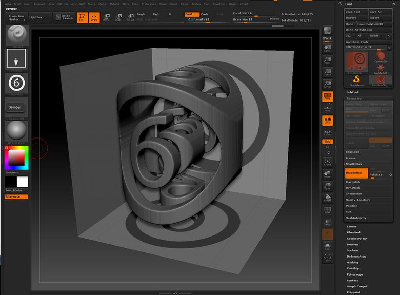 Using Shadowbox to create quick details · 3dtotal · Learn