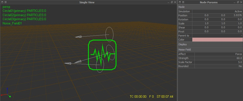 Applying Noise Field Daemon and modifying the parameters