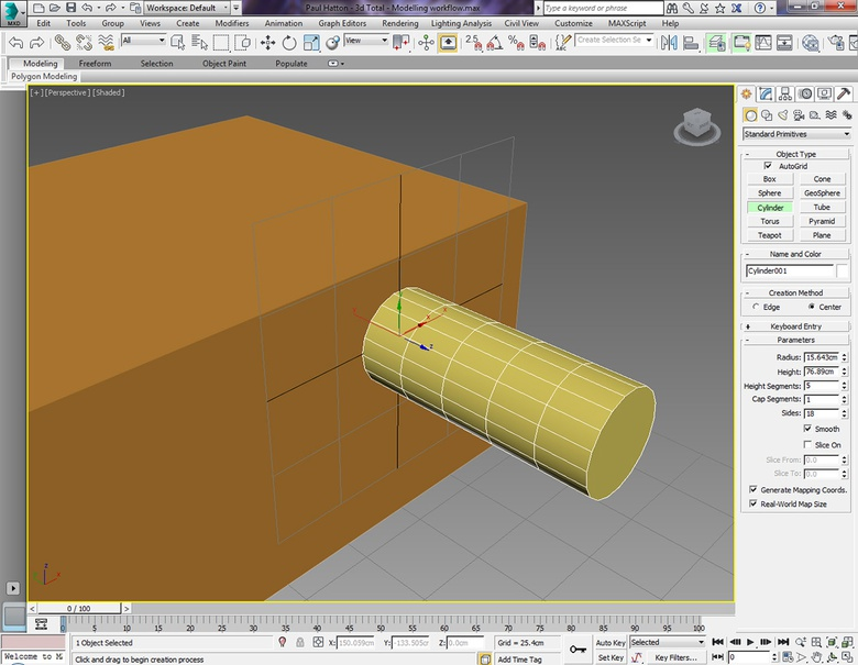 The Autogrid saves you having to align your object after you've created it. Removing the align step is a huge time-saver