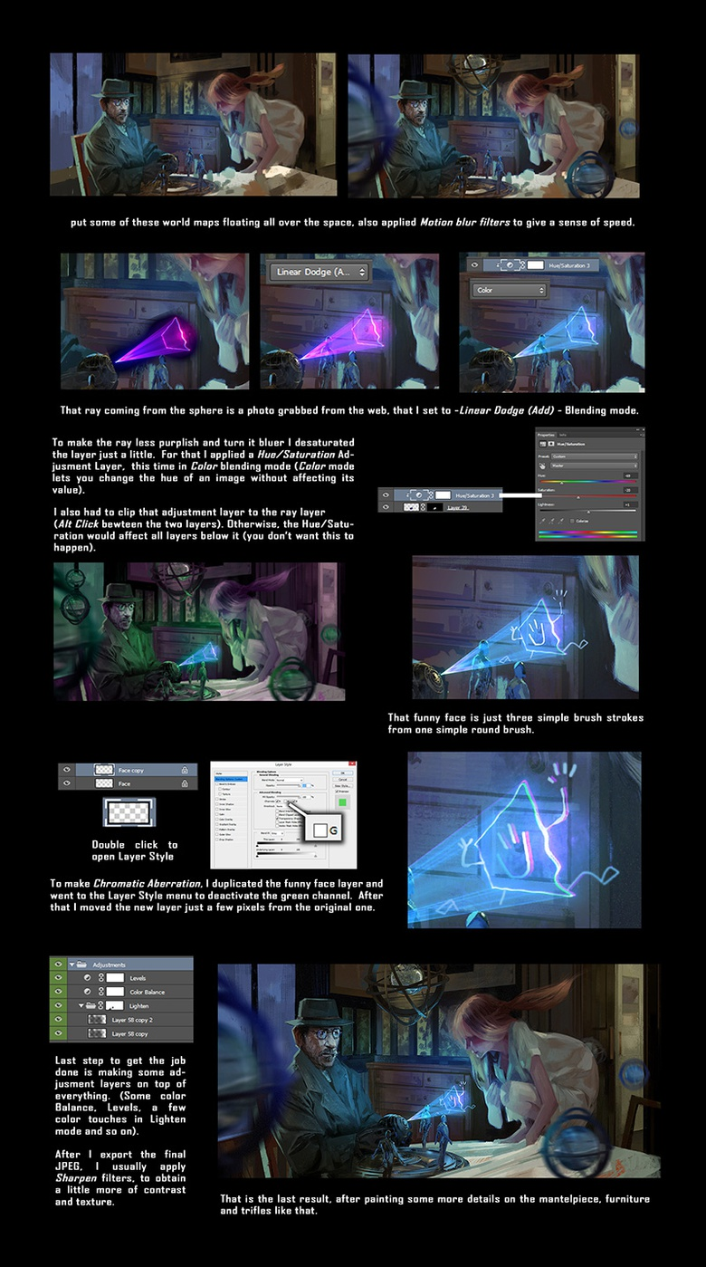 The special light effects and final tweaks to <em>Coffee and TV</em>