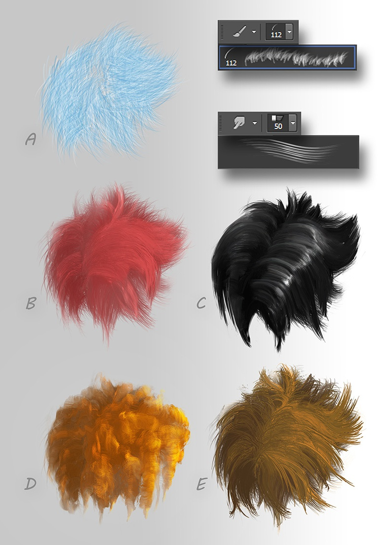 The lighting and brushing are the keys to creating believable hair and fur