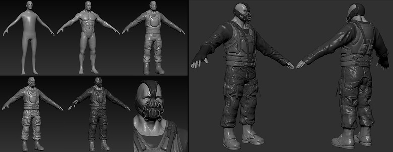 You can make any meshes very easily in ZBrush