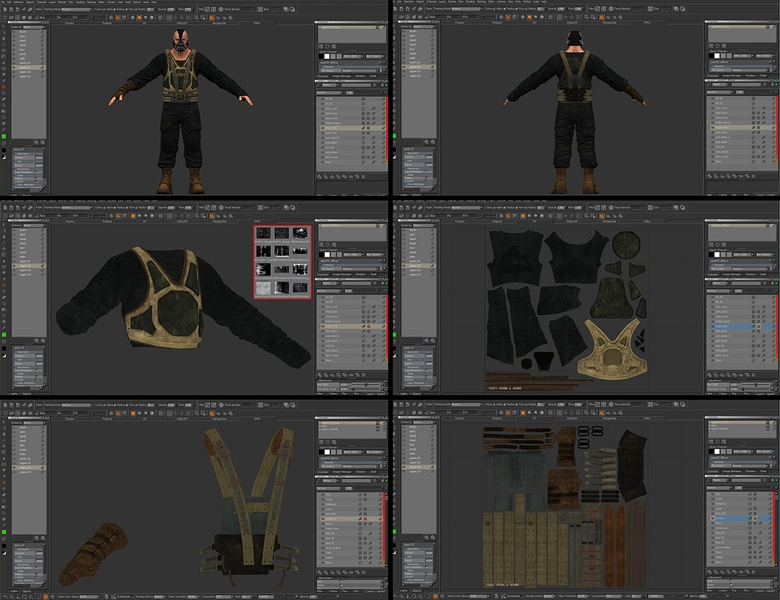 MARI is great for texturing in 3D or 2D mode. Also you can control layers to change all the details