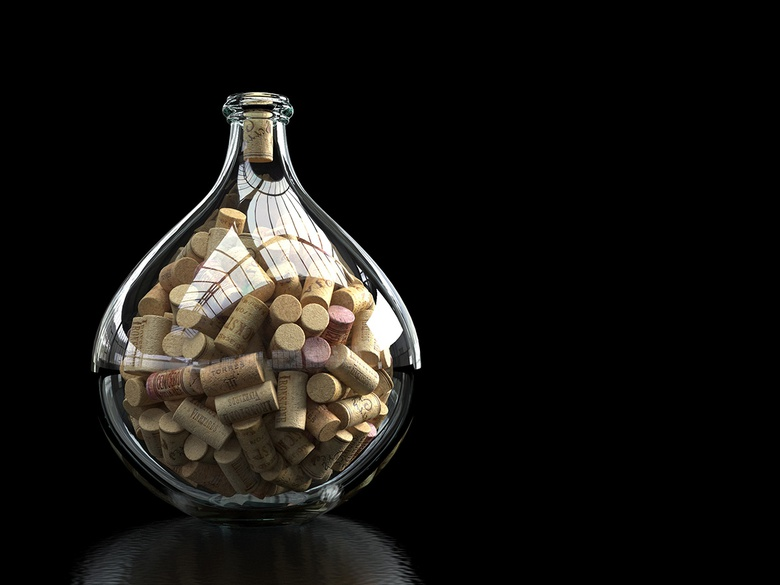 Stacking these corks in the bottle would have been a nightmare without the help of MassFx