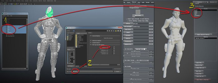 The process of rendering in Marmoset Toolbag