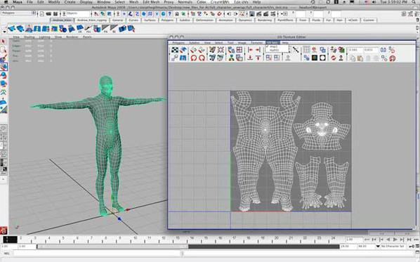 UV Sets in Maya · 3dtotal · Learn | Create | Share