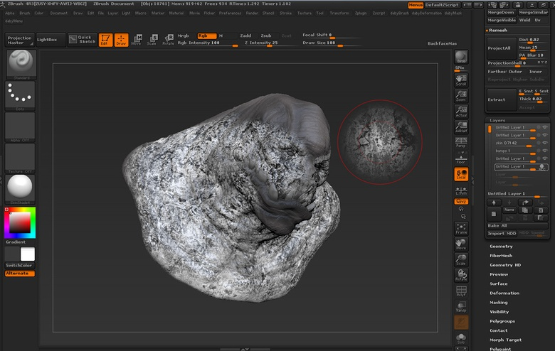 ZBrush Speed Sculpting Techniques - Chapter 1 · 3dtotal