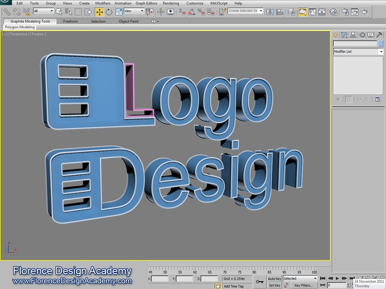 <em>The final logo design, ready for materials</em>
