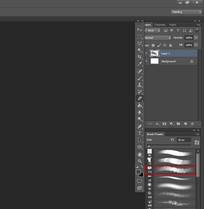 Finding the right brush for the effect you want