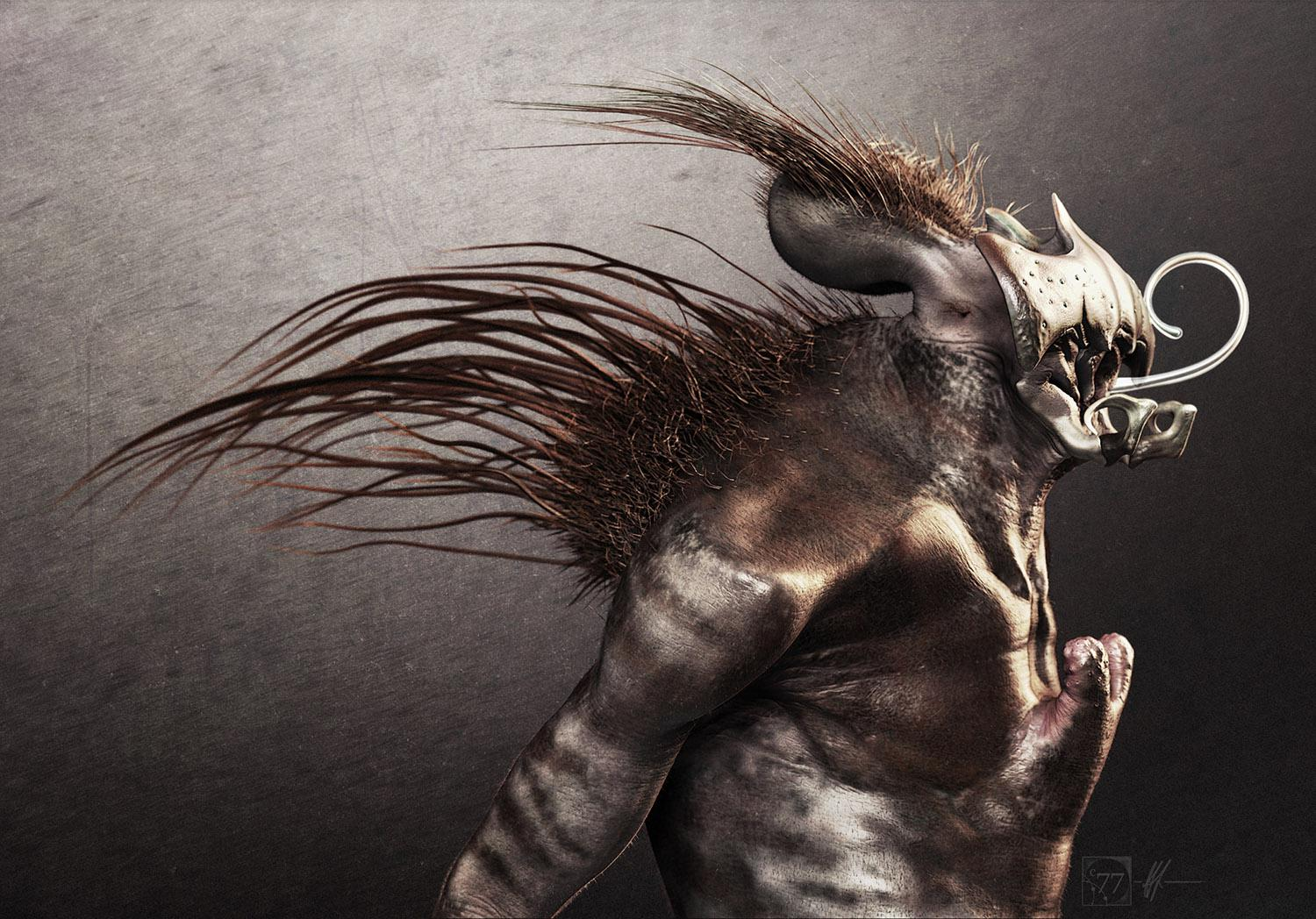 Building creatures in ZBrush · 3dtotal · Learn | Create | Share