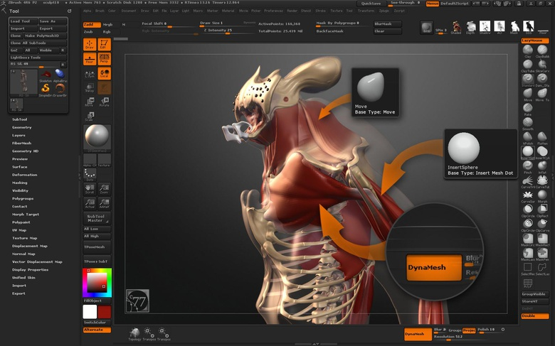 Bulking up the character to add function behind the form