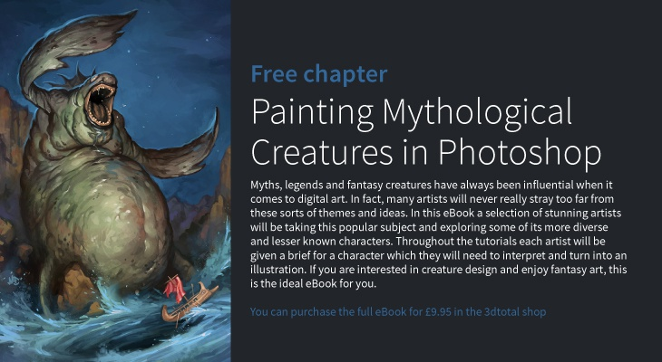 Painting Mythological Creatures in Photoshop · 3dtotal