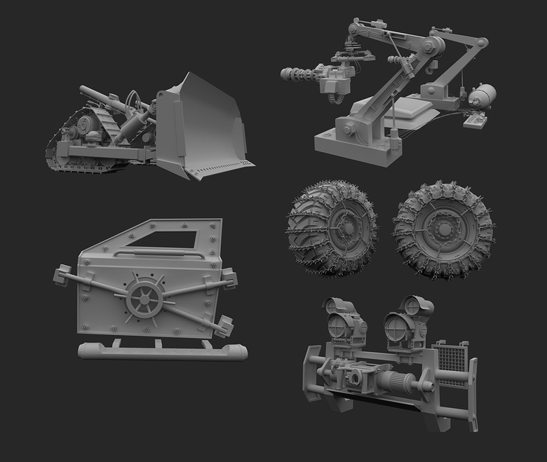 Some models of the modifications