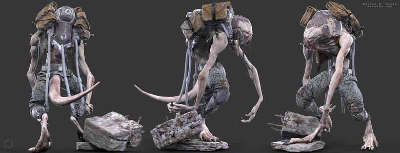 Textured full model