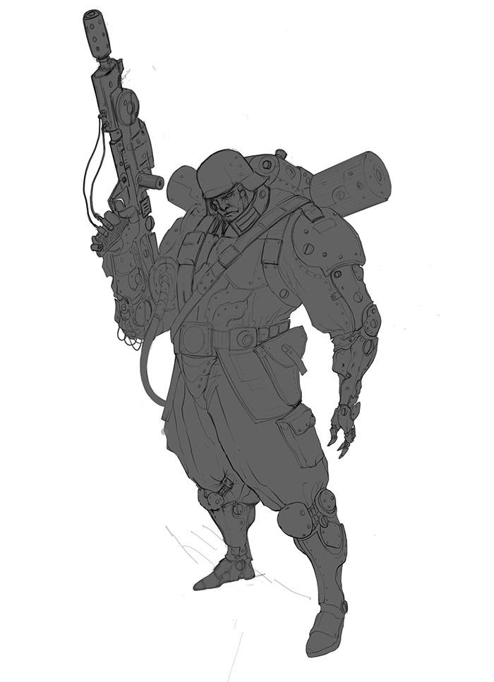 <h5>Clean line art and blocking</h5>