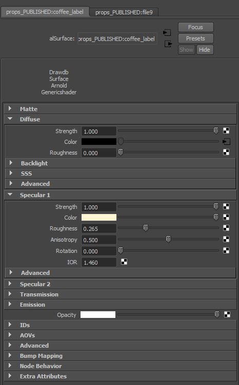 <h5>Label shader attributes</h5>
