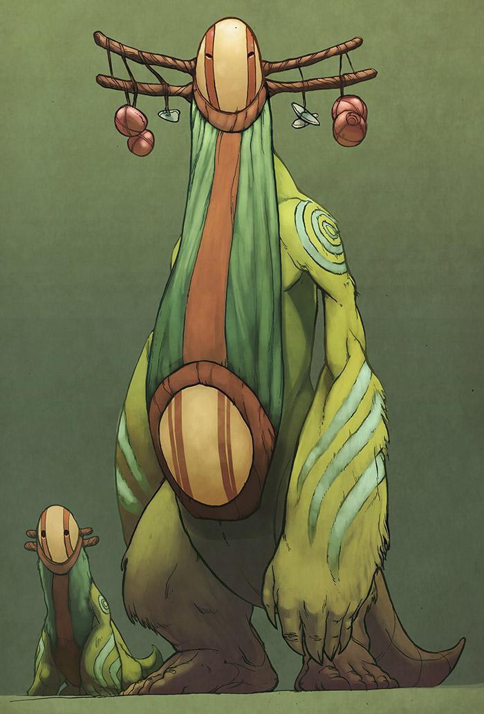 <h5>The concept of Rajak by Brandon Tyler Cebenka</h5>