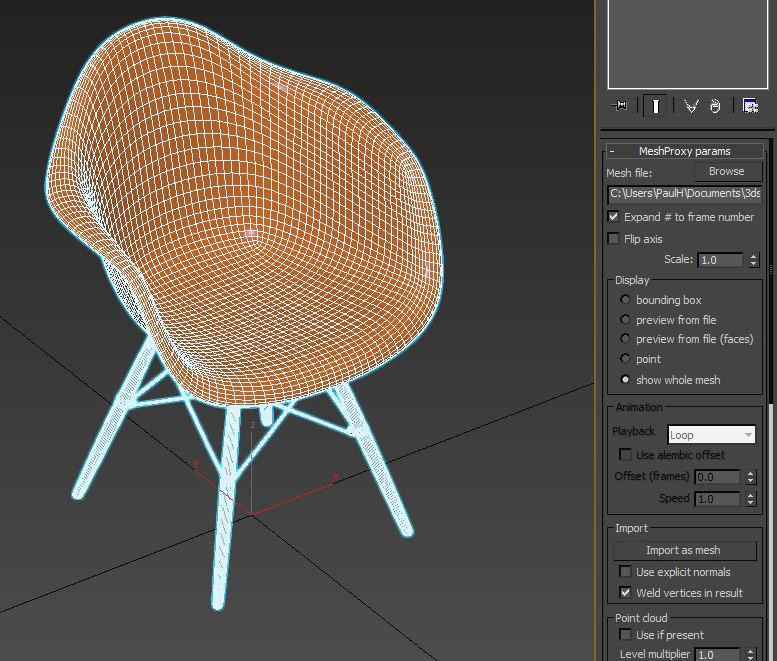 <h5>Take advantage of the improved proxy object by previewing the entirety of your meshes in the viewport</h5>