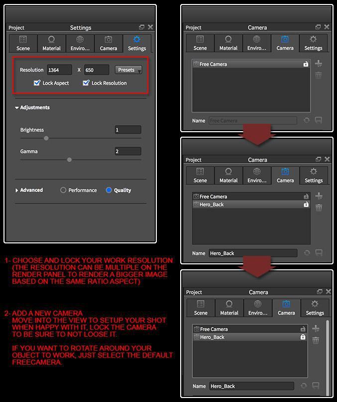 <h5>KeyShot setup</h5>