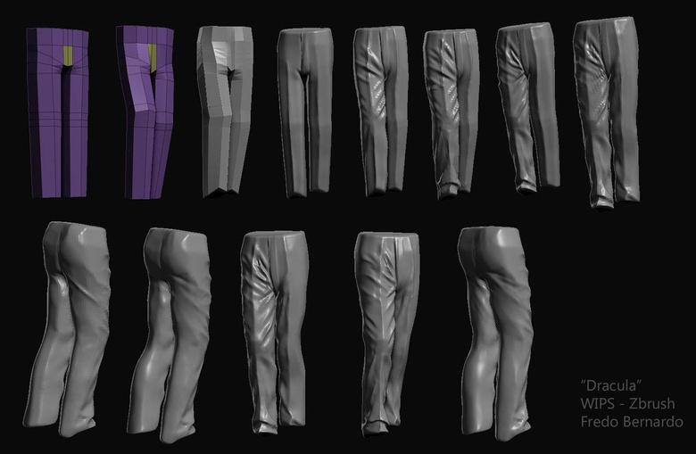 Sculpting pants