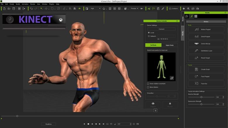 Craft game characters with Reallusion's iClone software