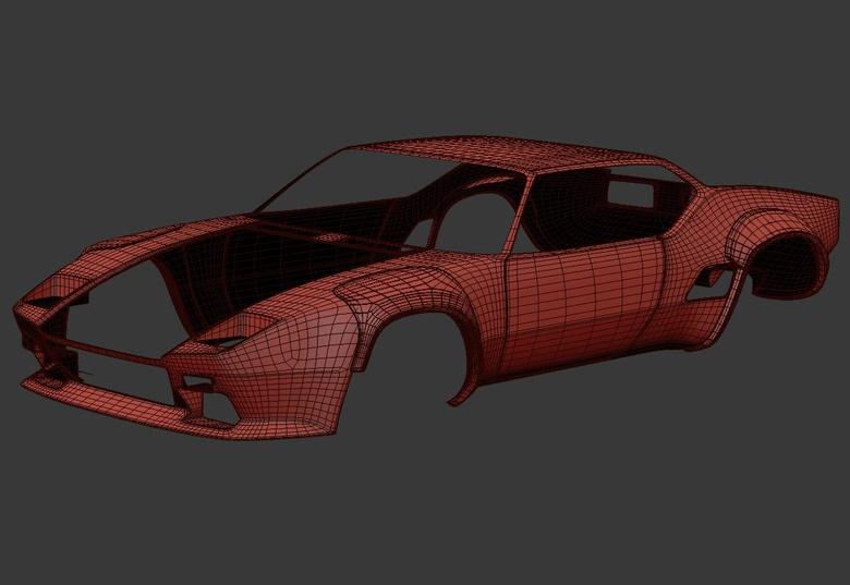 Car body mesh
