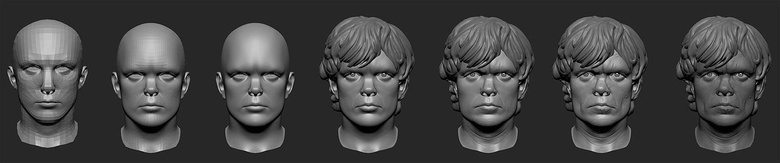 Going from a generic face to a realistic likeness