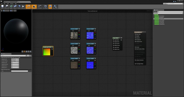 Unreal Engine 2: Introducing materials and landscape
