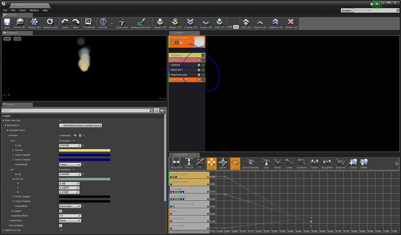 A little variety helps our simple particle system