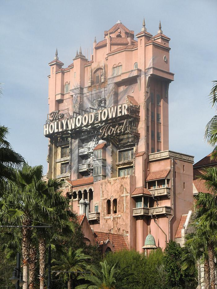 <h5>Tower of Terror at Disney Hollywood Studios</h5>