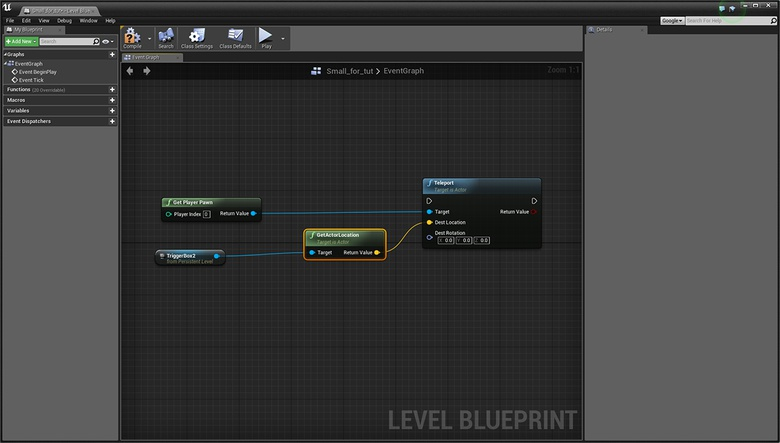 Unreal Engine Part 7: Teleporters · 3dtotal · Learn | Create | Share