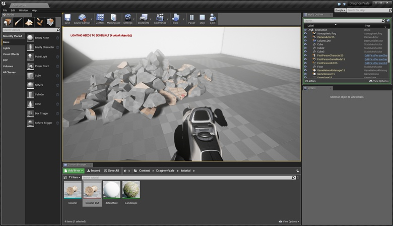 Unreal Engine Part 9: Destruction · 3dtotal · Learn | Create