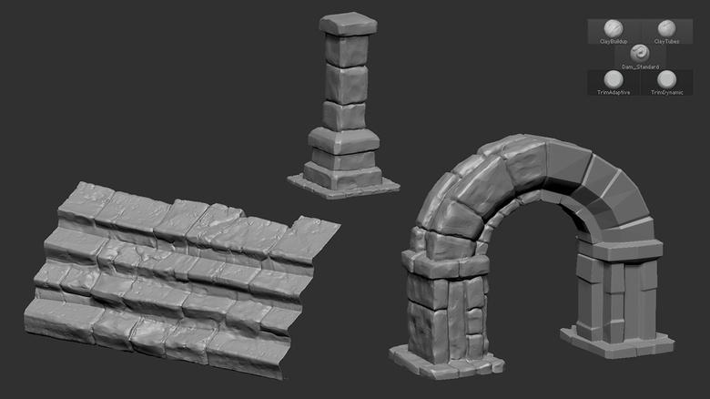 Stone sculpts